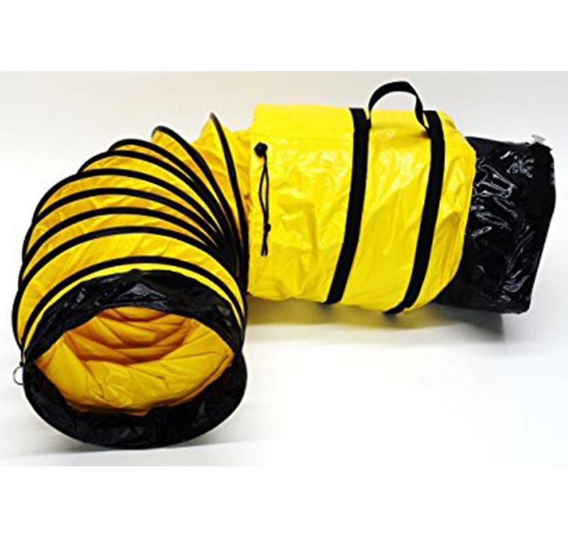 PVC伸缩通风管带储存袋手提袋