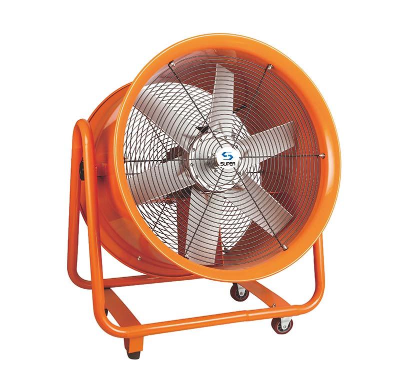 带轮可移动可调角度大风量通风机