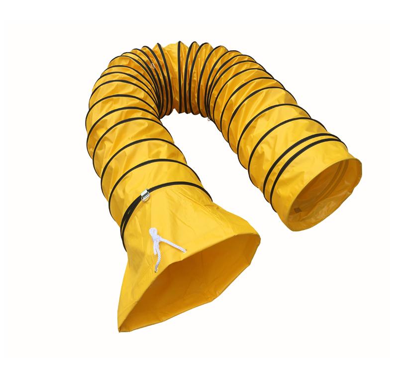 黄色PVC抽排通风软管
